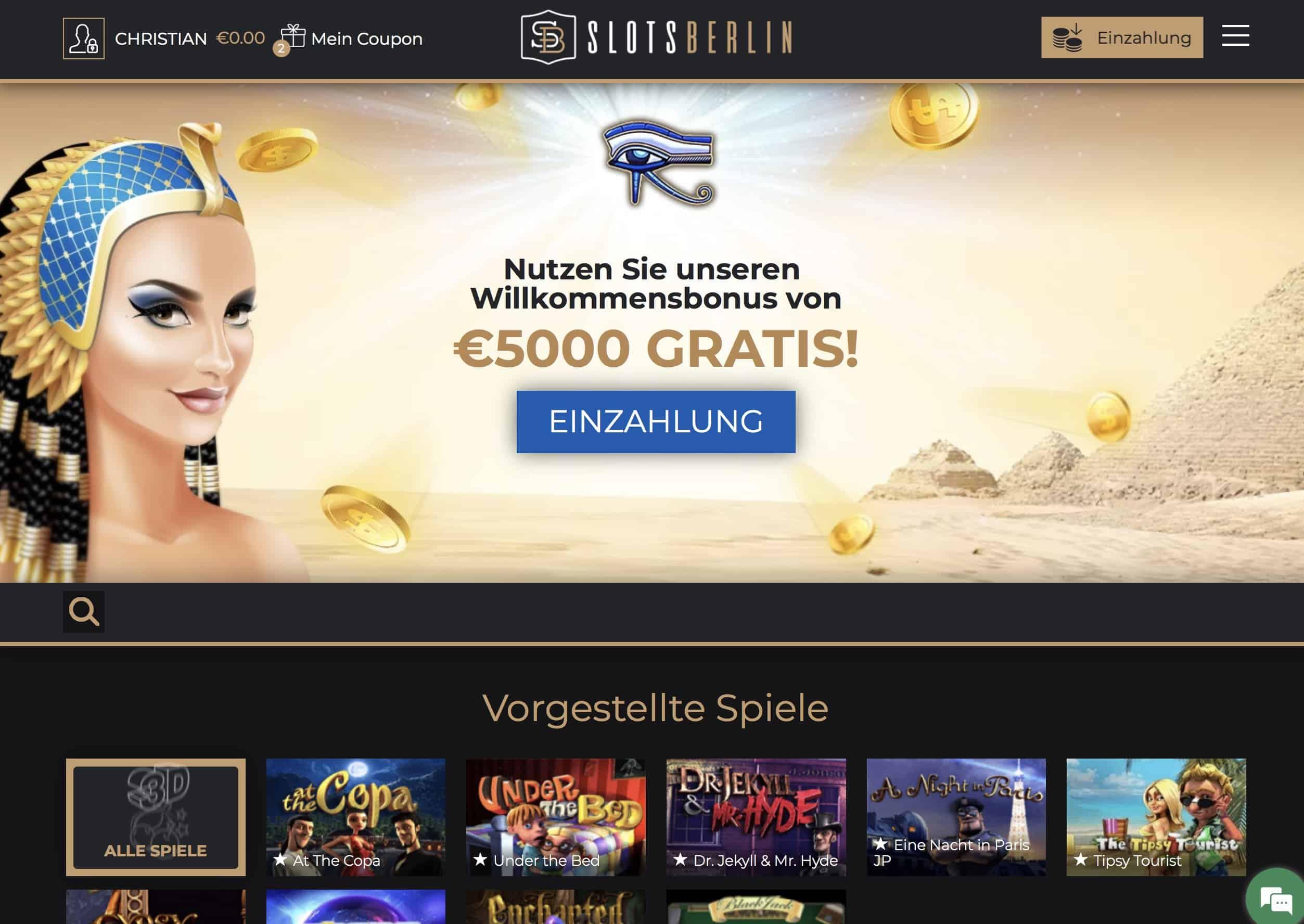 Slots Berlin Casino Erfahrungen und Test