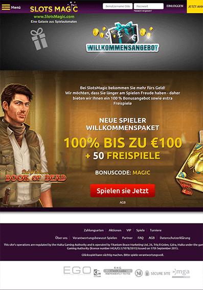 Slots Magic Casino- Erfahrungen & Testbericht