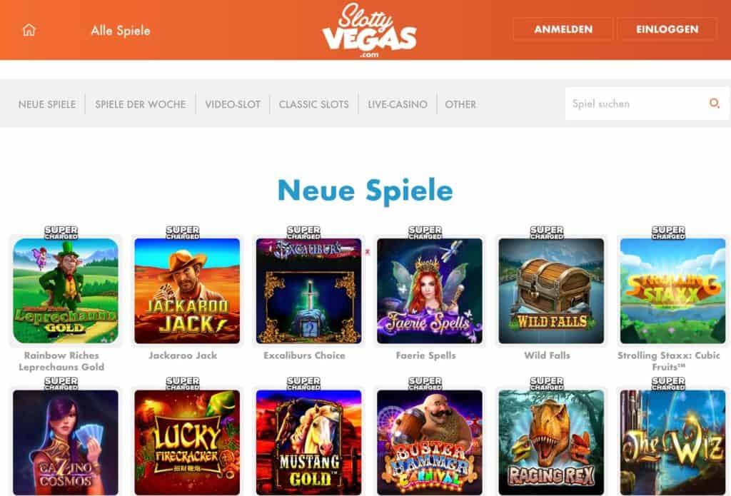 Slotty Vegas Casino Erfahrungen & Testbericht: Jetzt wird's Supercharged!