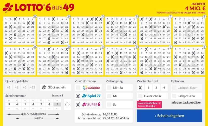 Spiel77 Und Super6