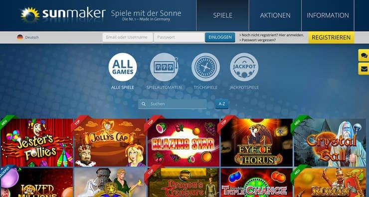 Sunmaker Alternativen – Sunnyplayer, Stake7 oder Merkur?