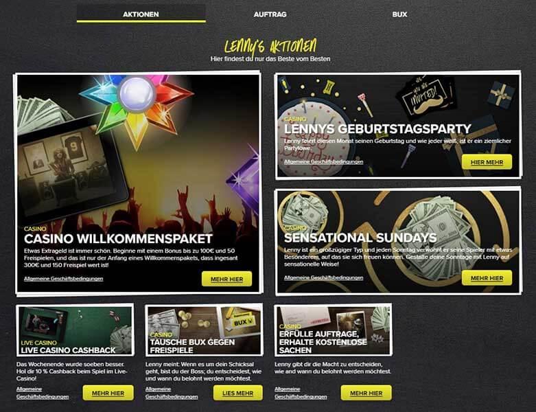 Superlenny Casino Anmeldung