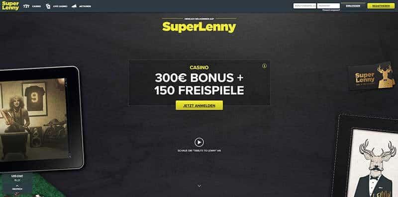 SuperLenny Casino Erfahrungen und Testbericht