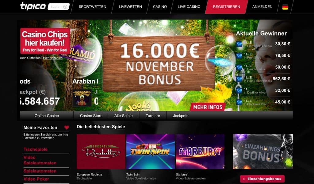 online casino tipico