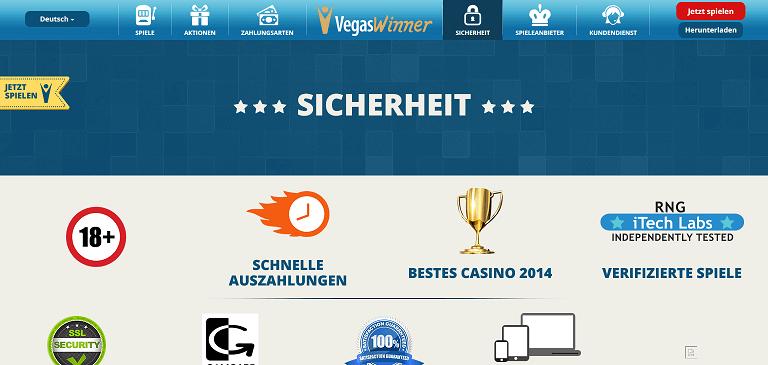 Vegas Winner Casino Anmeldung